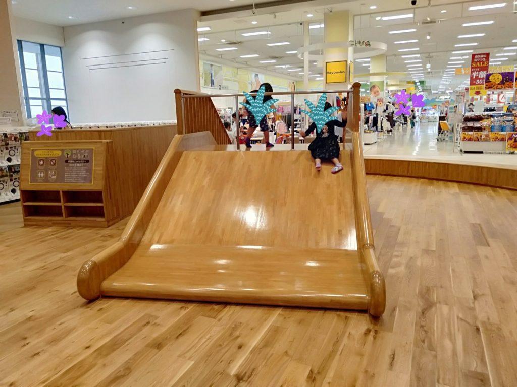 イオンモール高岡無料子供の遊び場