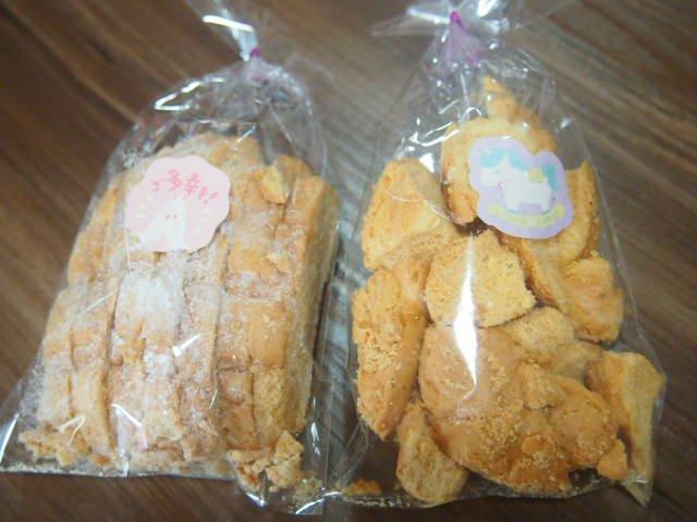 世界で2番目においしい焼き立てメロンパンアイス 富山高岡店ラスク
