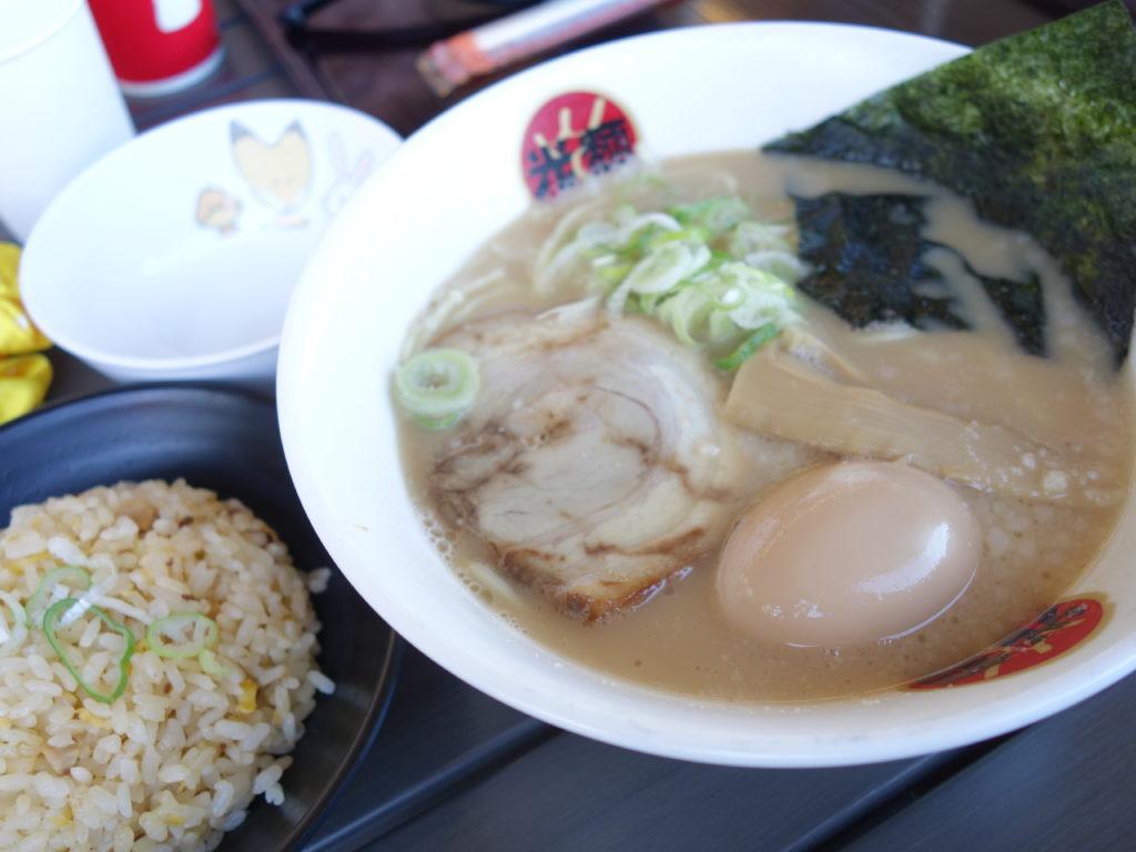 【 光麺 】でランチ!富山でたべられるのはアウトレット小矢部だけ!