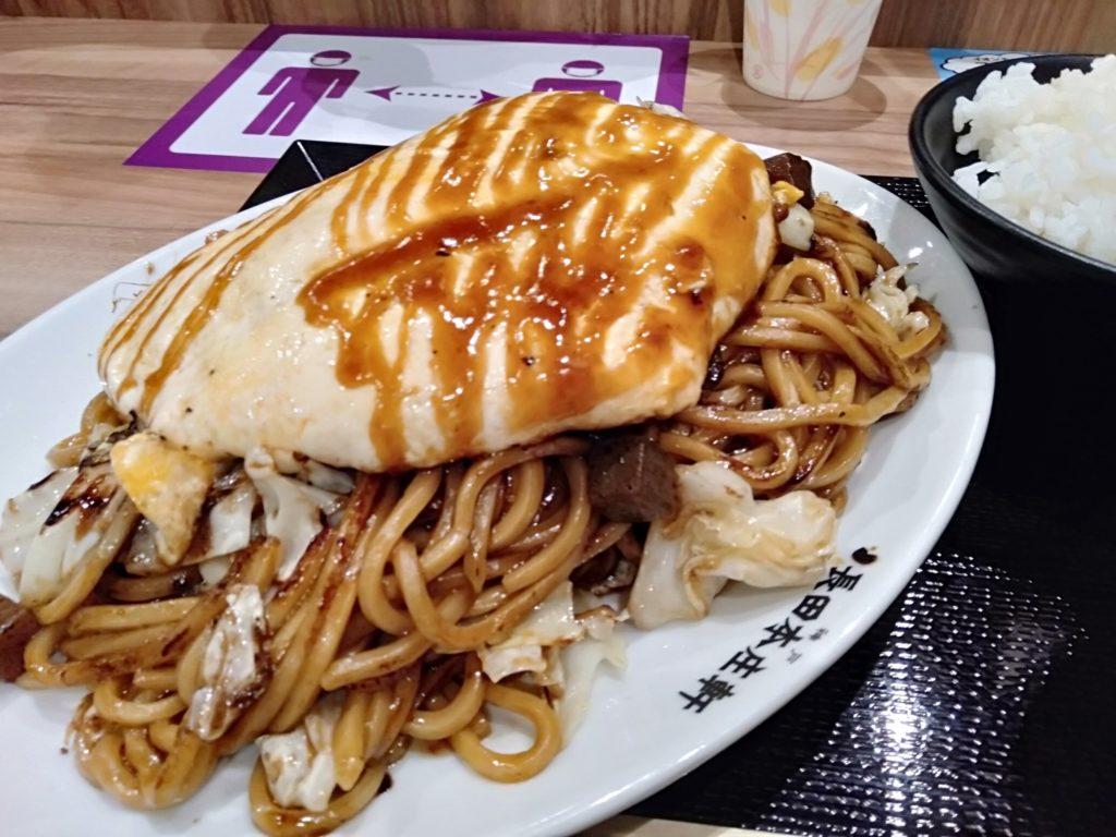 【長田本庄軒】イオンモール高岡店でぼっかけ焼きそばを食べよう!